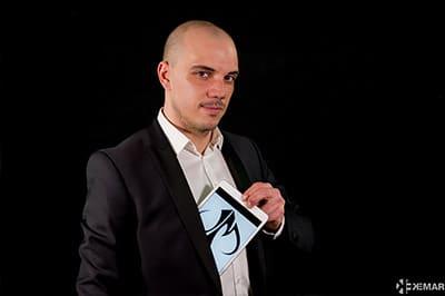 Spectacle magicien suisse romande 18