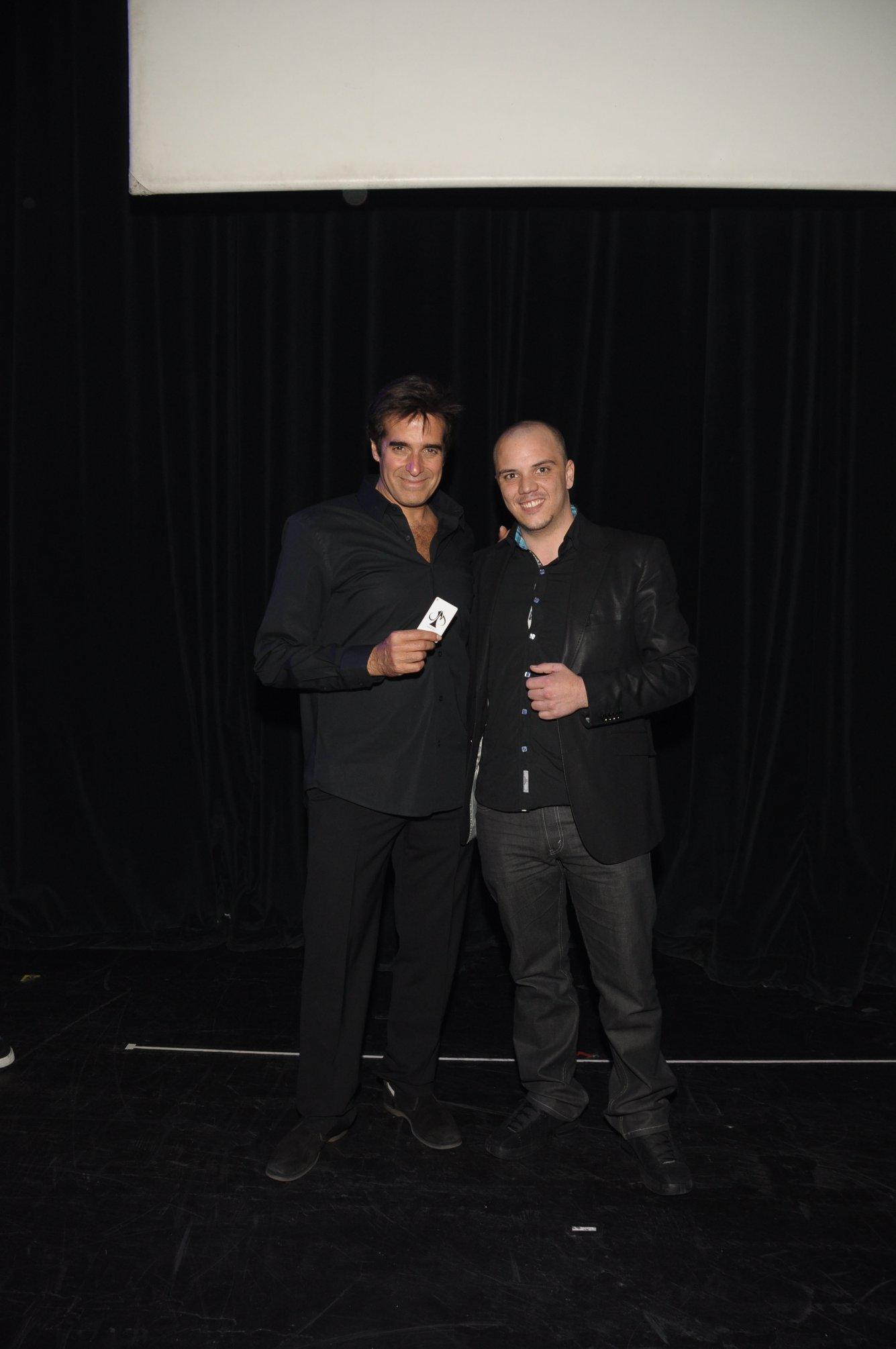 Bon souvenir avec David Copperfield à Las Vegas ! ;)